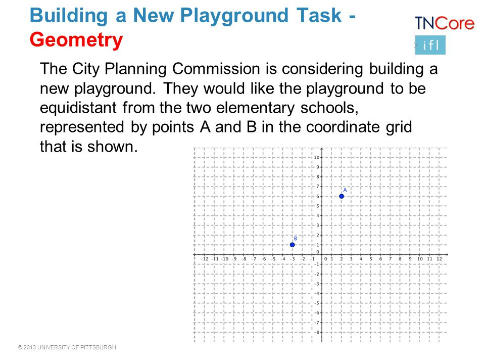 Building a New Playground Task -Geometry