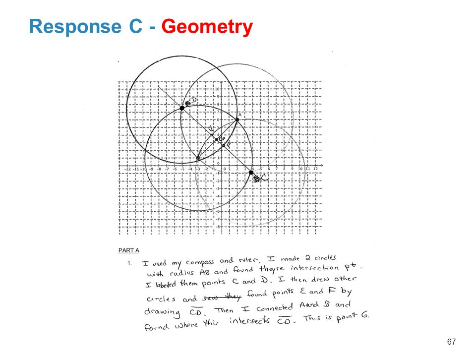 Response C - Geometry Probing Facilitator Questions and Possible Responses Related to Response C's Work: