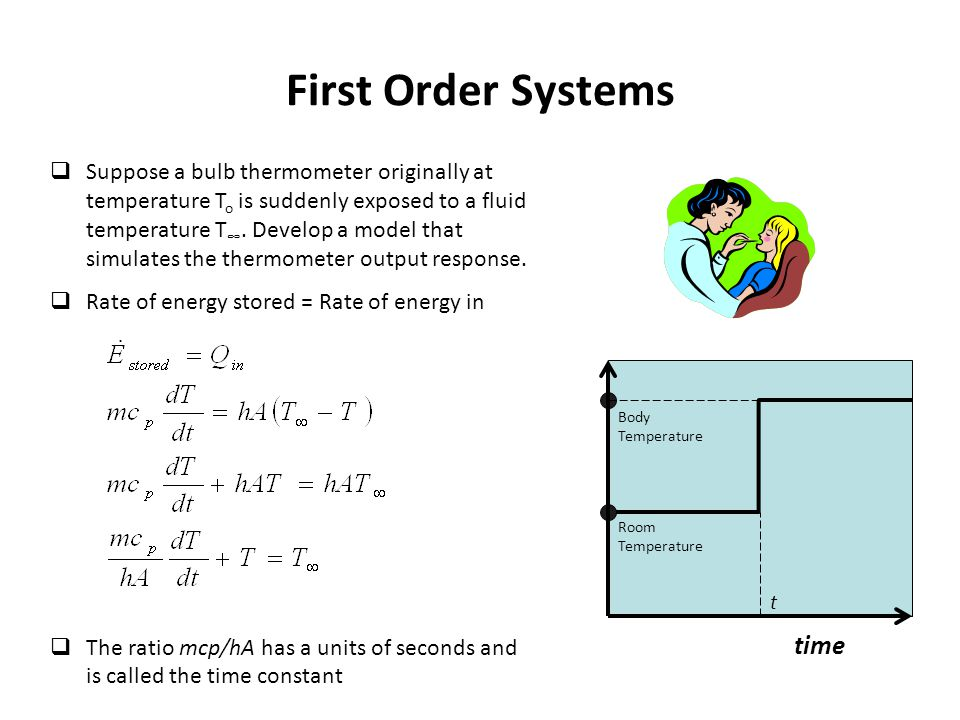 First Order Systems time