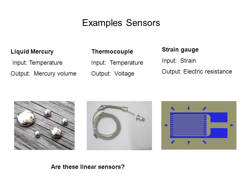 Are these linear sensors