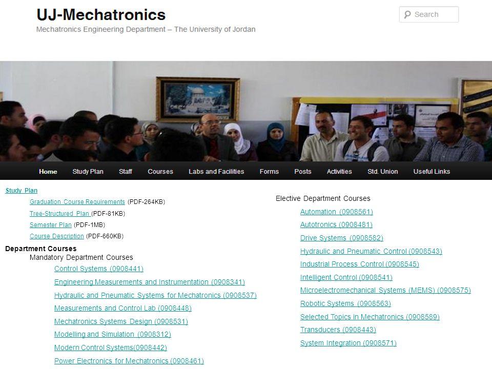 Elective Department Courses Automation (0908561)