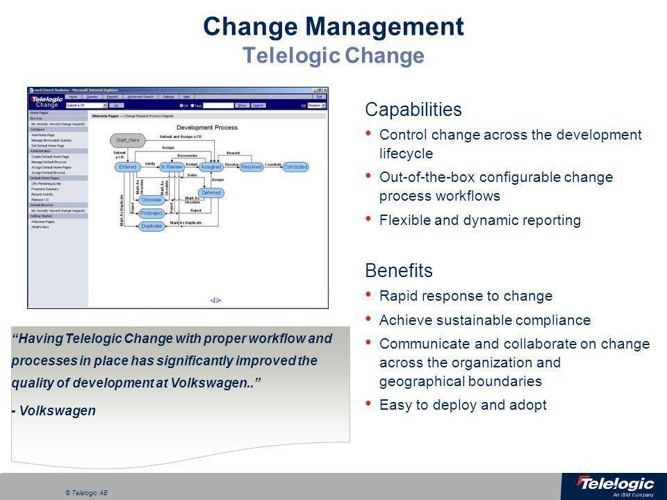 Change Management Telelogic Change