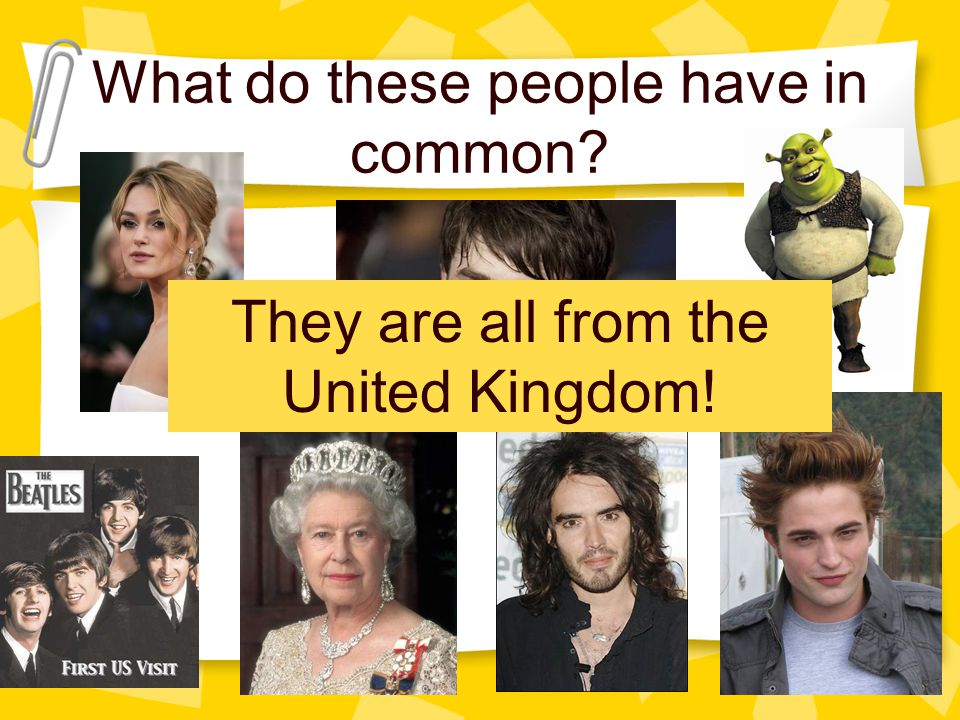 What do these people have in common