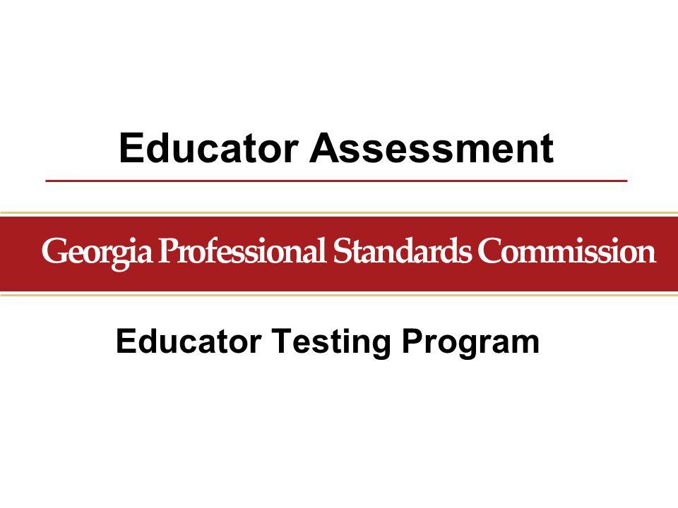 Educator Testing Program