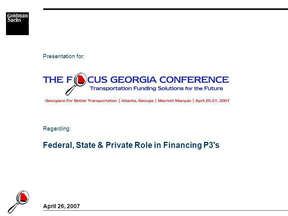 Table of Contents Tab Evolution of Federal Role I