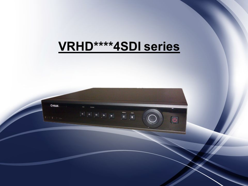 VRHD****4SDI series