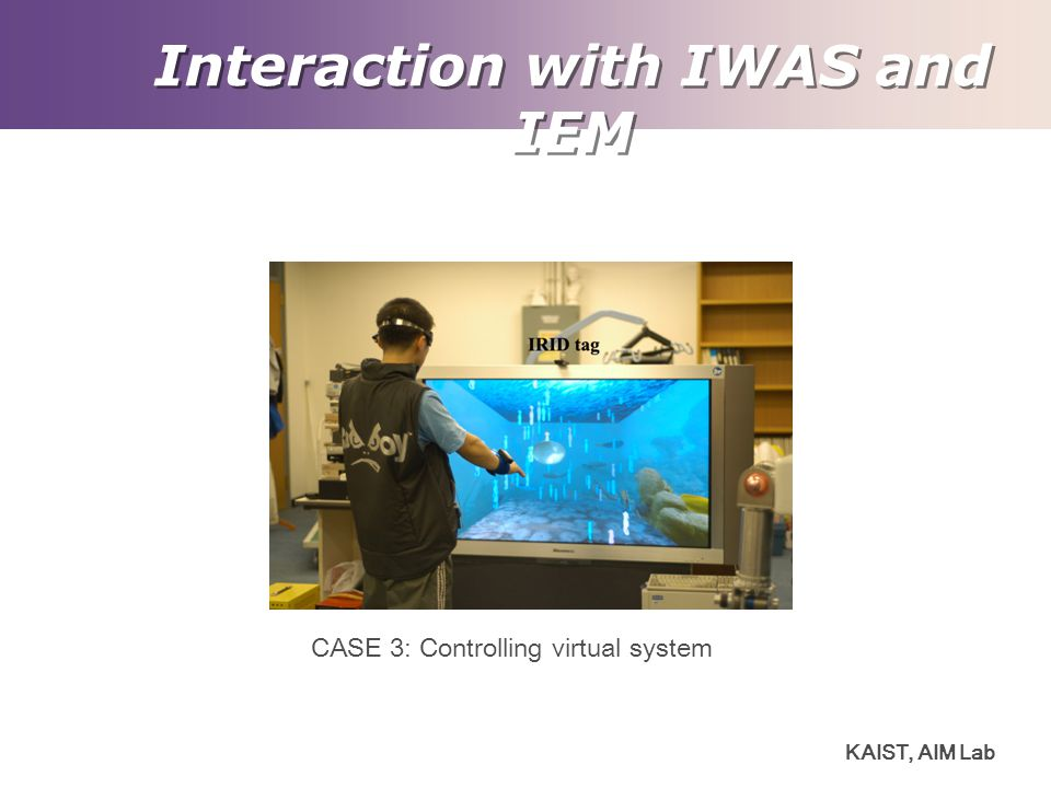 Interaction with IWAS and IEM