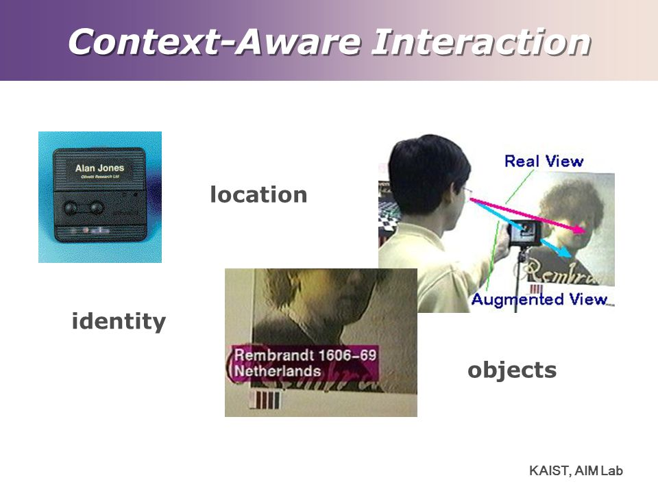 Context-Aware Interaction