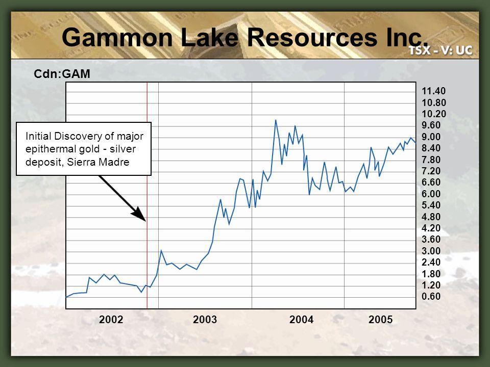 Gammon Lake Resources Inc.