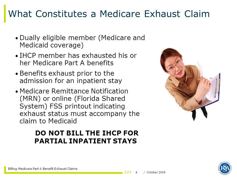 What Constitutes a Medicare Exhaust Claim