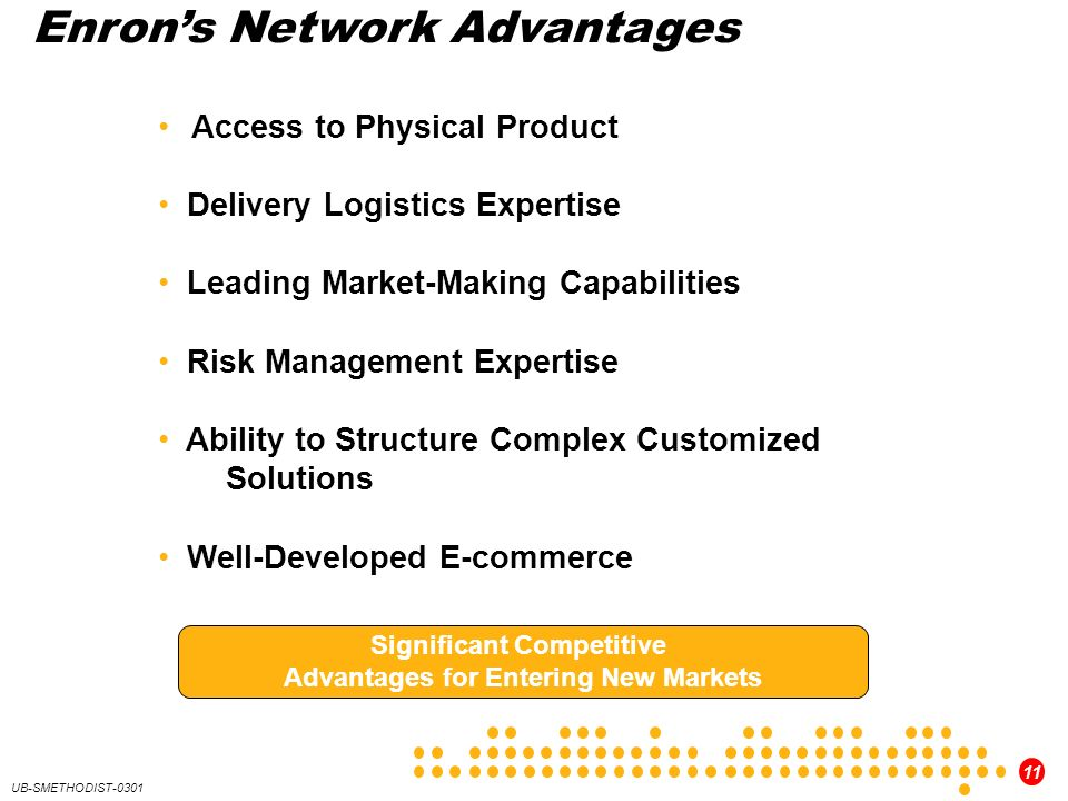 Significant Competitive Advantages for Entering New Markets
