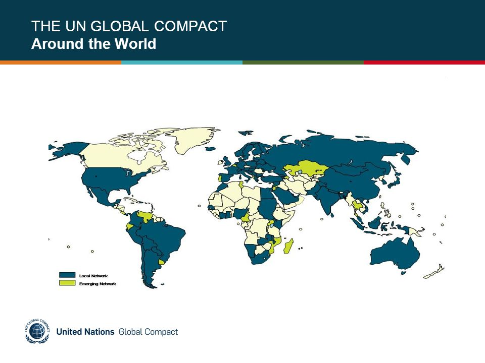 THE UN GLOBAL COMPACT Around the World