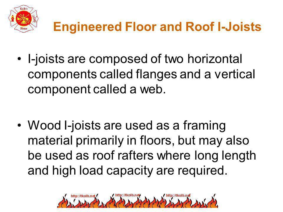 Engineered Floor and Roof I-Joists