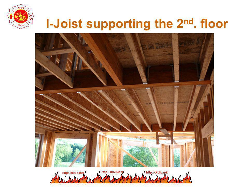 I-Joist supporting the 2nd. floor