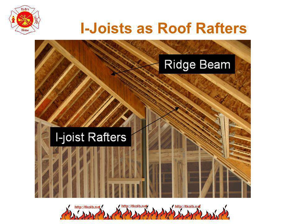 I-Joists as Roof Rafters