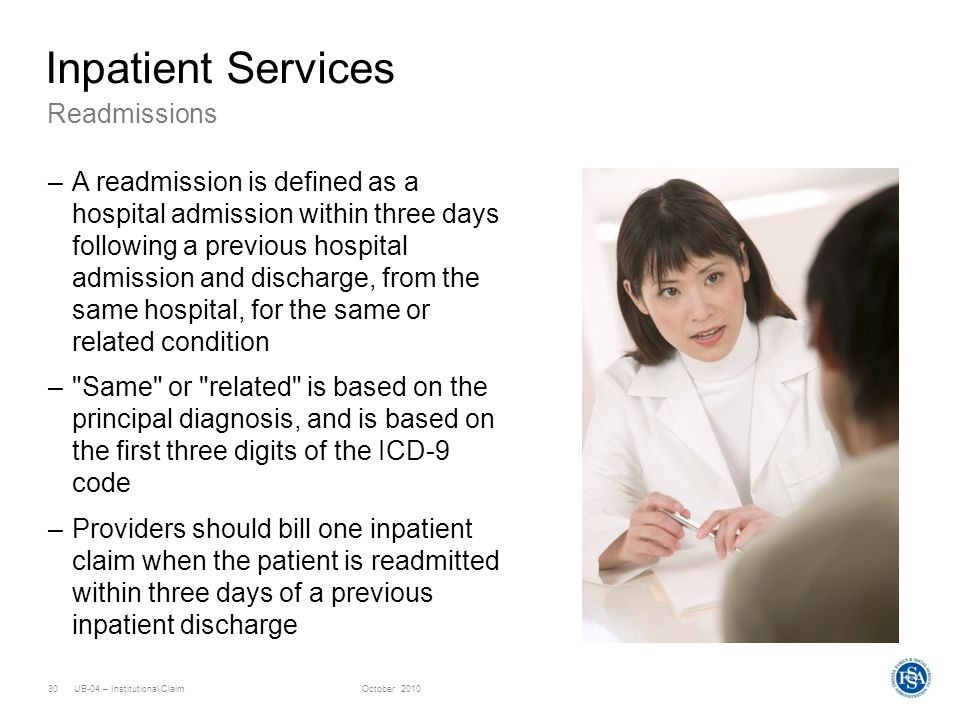 Inpatient Services Readmissions