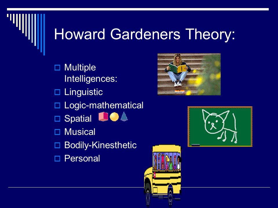 Howard Gardeners Theory: