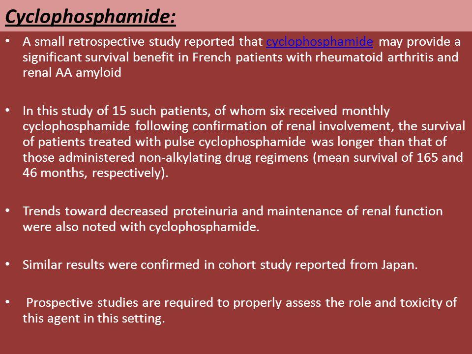 Cyclophosphamide: