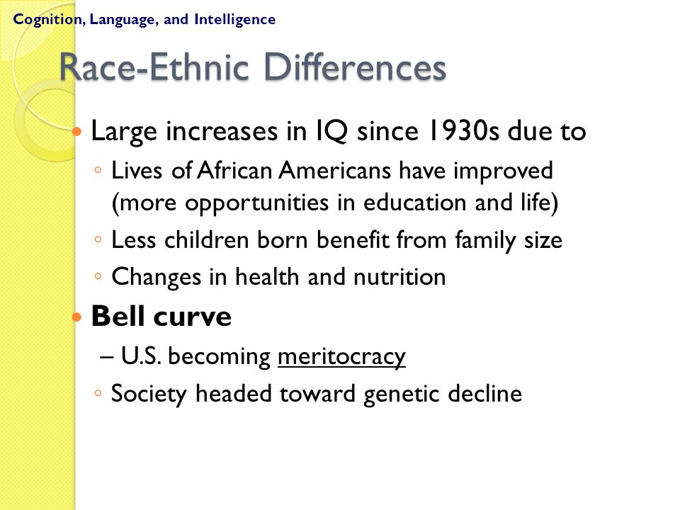 Race-Ethnic Differences