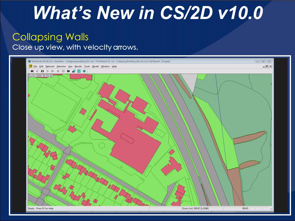 What's New in CS/2D v10.0 Collapsing Walls