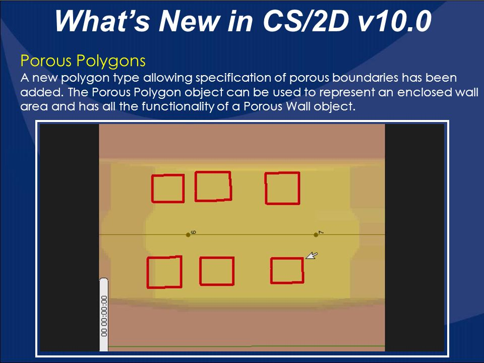 What's New in CS/2D v10.0 Porous Polygons