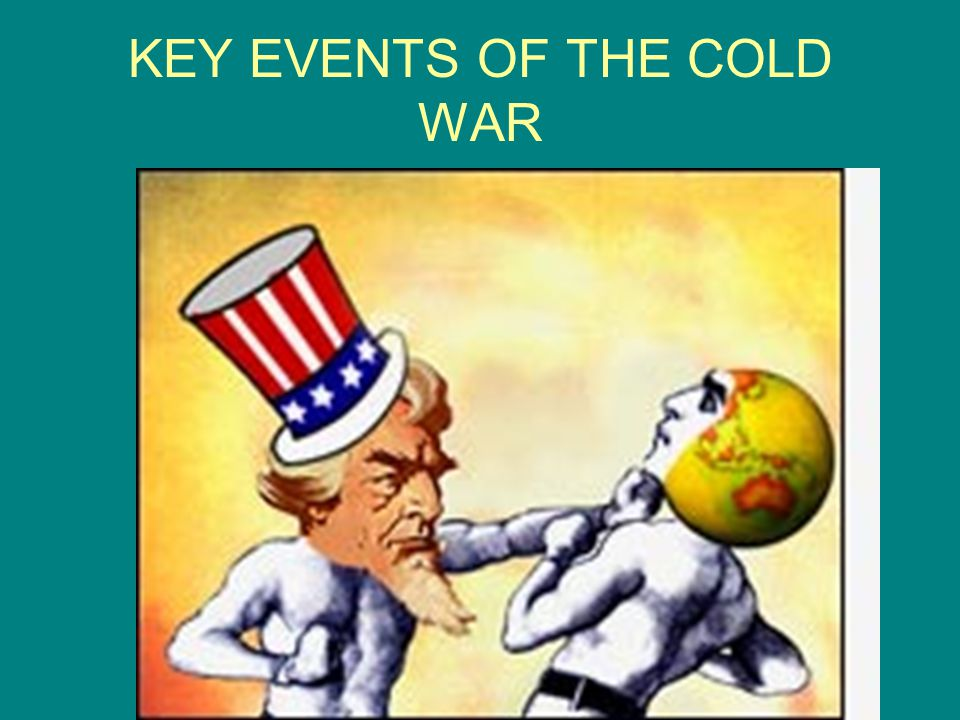 KEY EVENTS OF THE COLD WAR