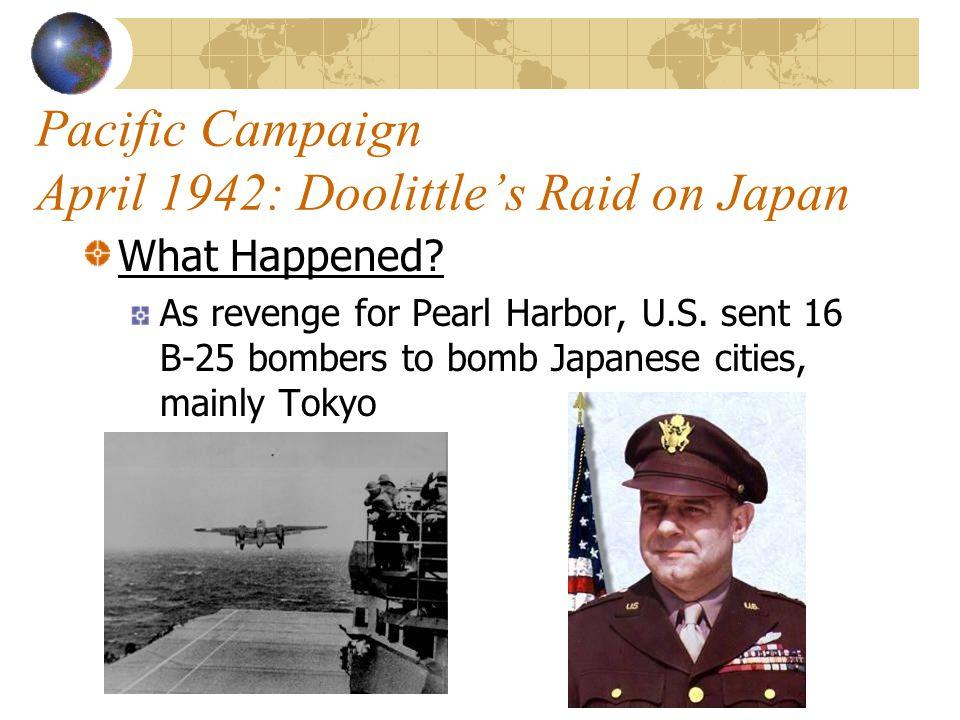 Pacific Campaign April 1942: Doolittle's Raid on Japan