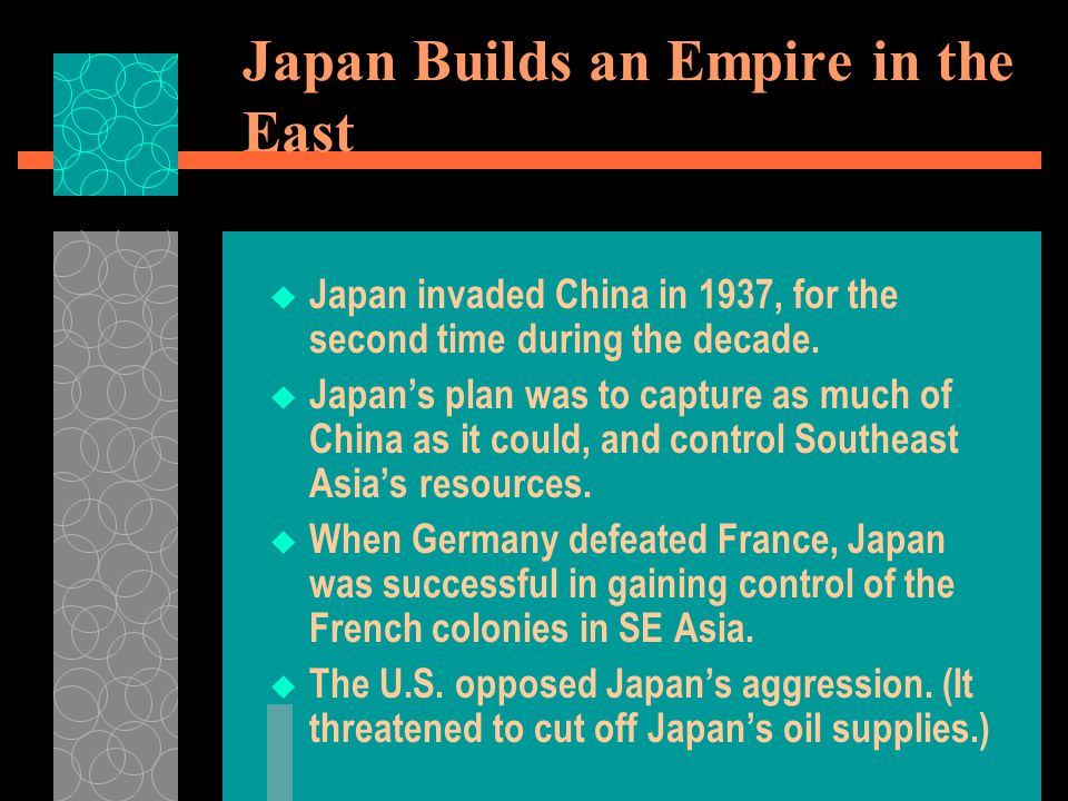 Japan Builds an Empire in the East