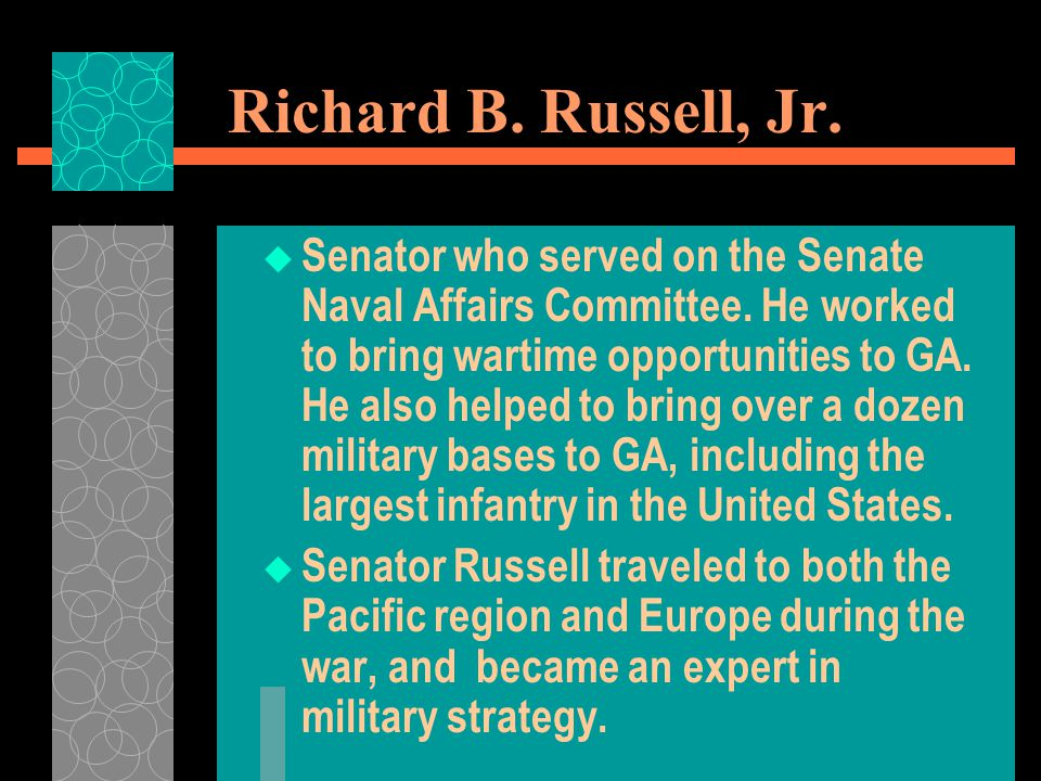 Richard B. Russell, Jr.