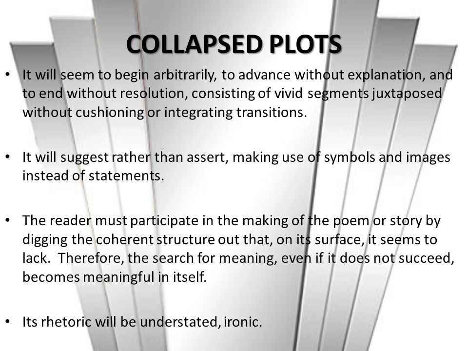 COLLAPSED PLOTS