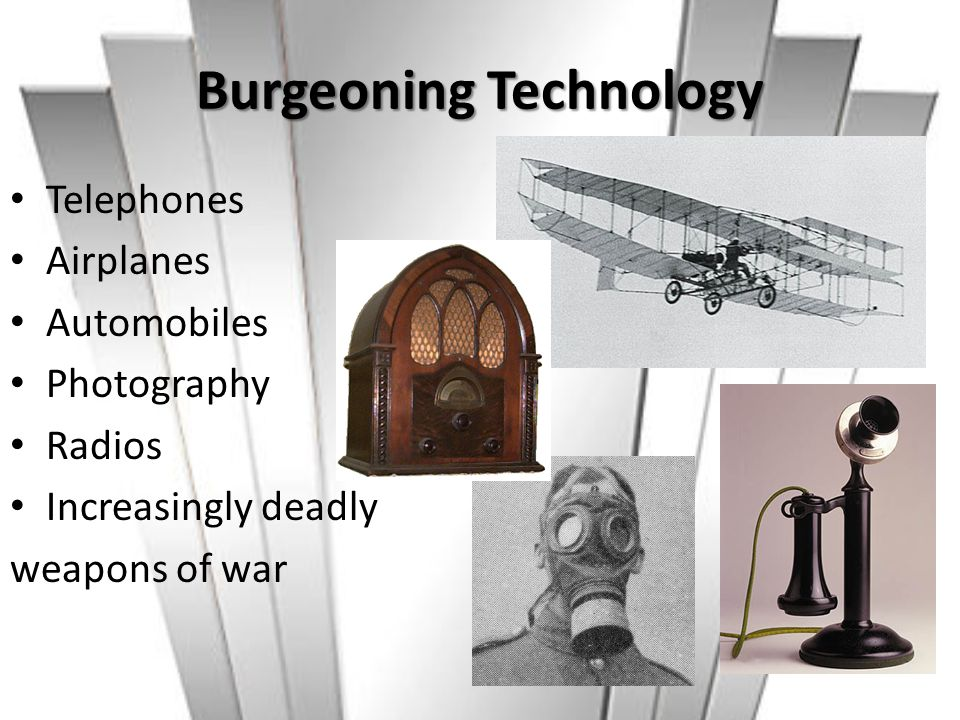 Burgeoning Technology