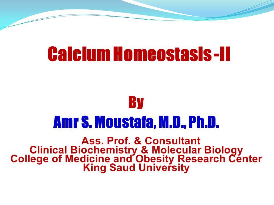 Calcium Homeostasis -II