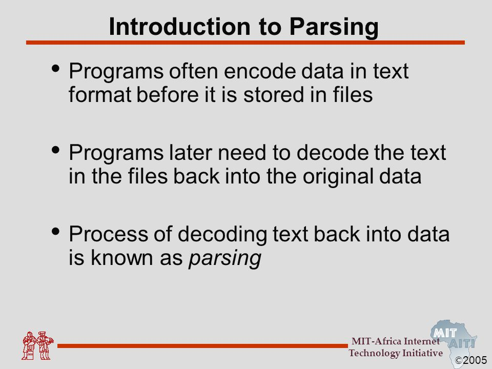 Introduction to Parsing
