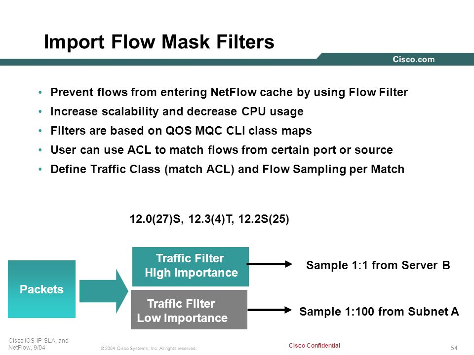 Import Flow Mask Filters