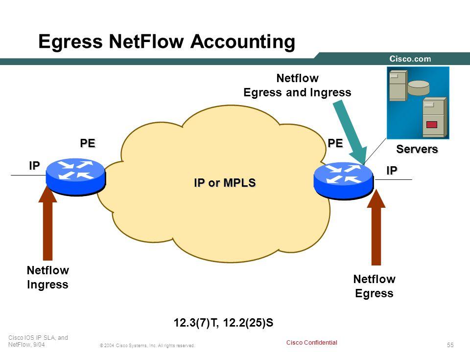 Egress NetFlow Accounting