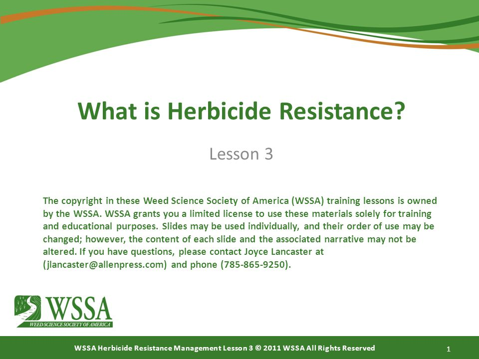 What is Herbicide Resistance