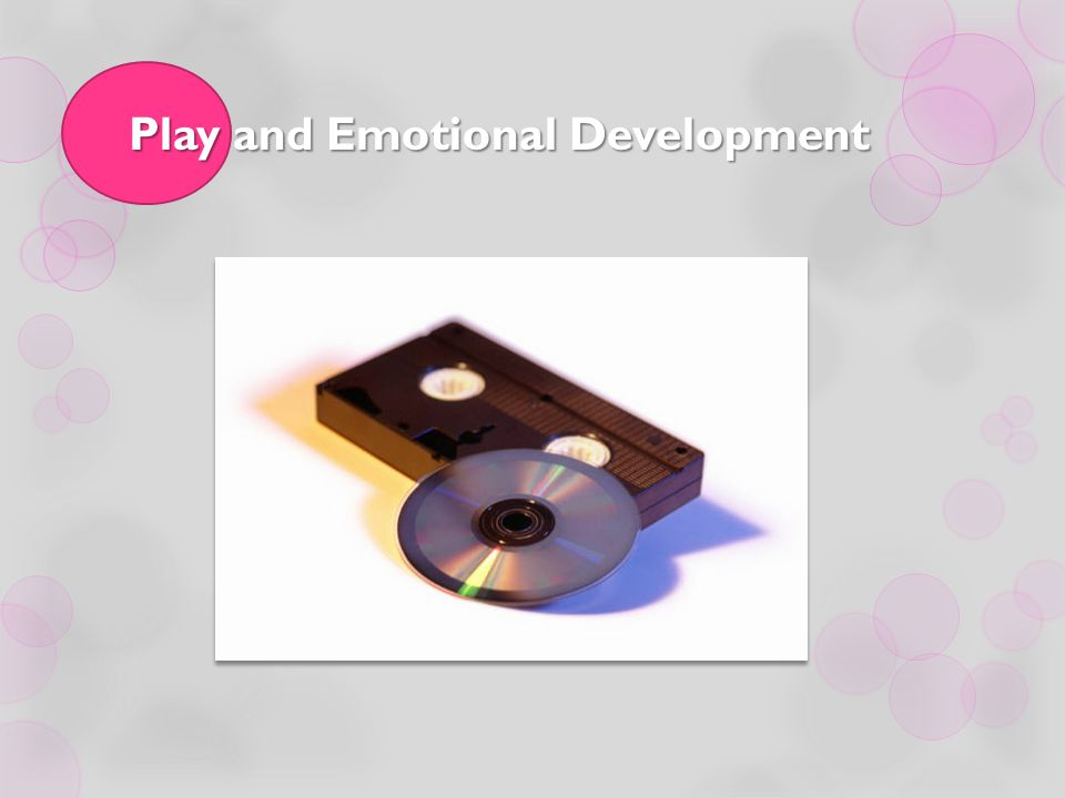 Play and Emotional Development