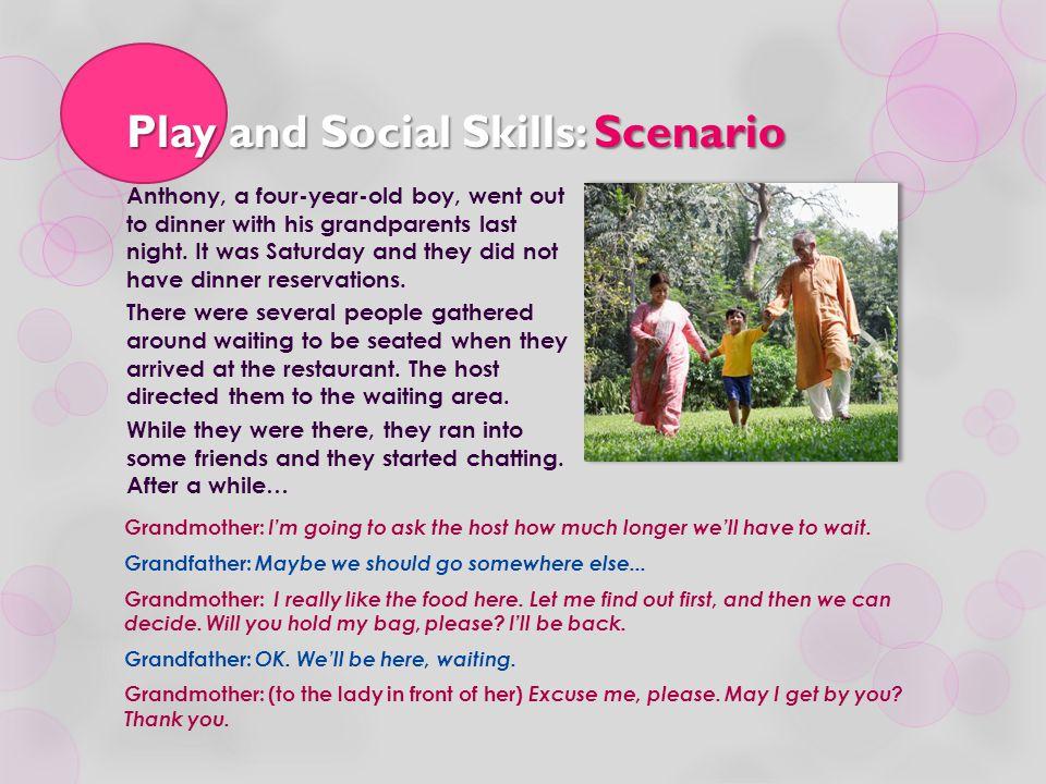 Play and Social Skills: Scenario