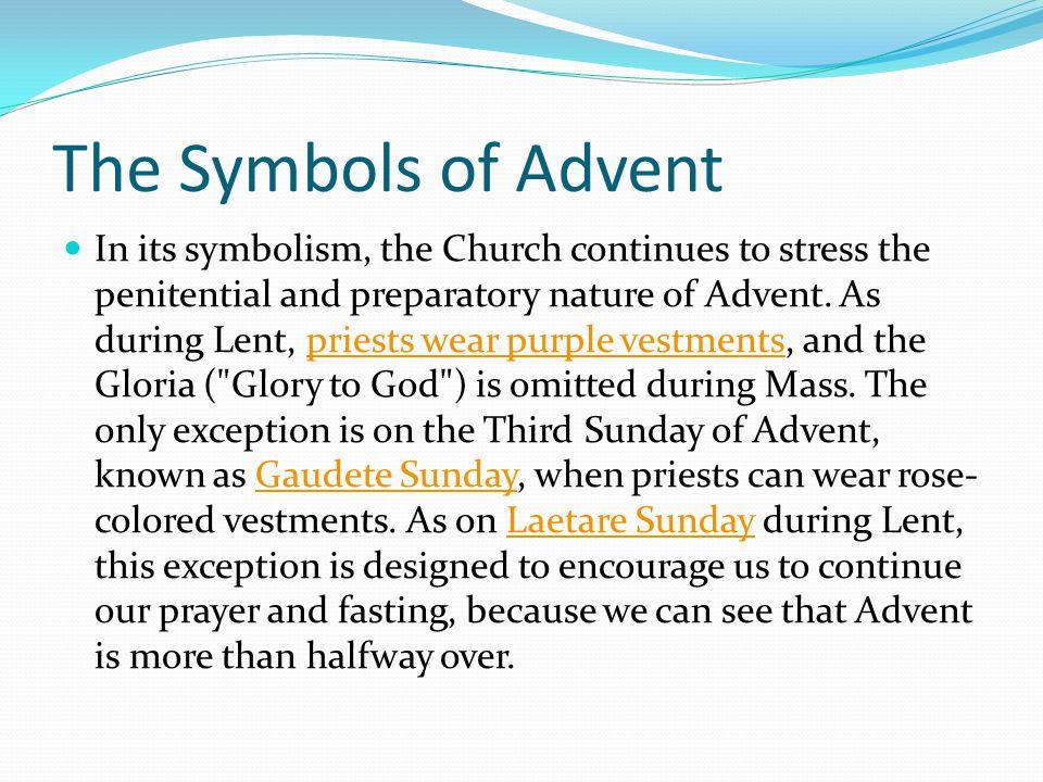 The Symbols of Advent