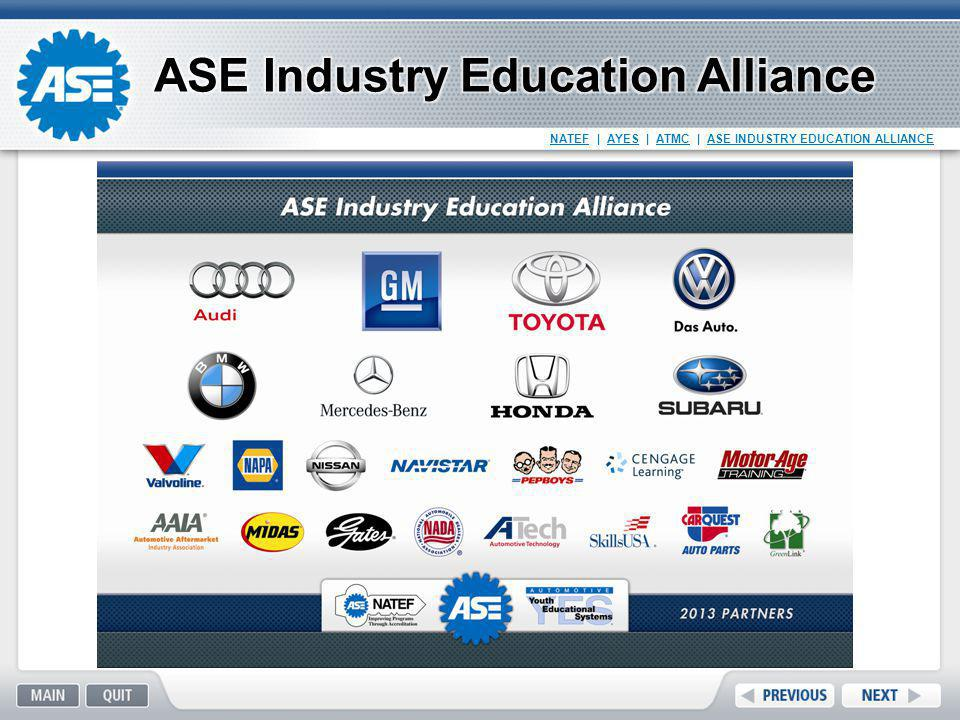ASE Industry Education Alliance