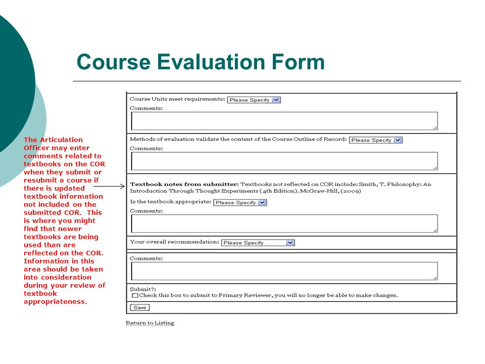 Reviewing Course Outlines For C-Id Designation - Ppt Download
