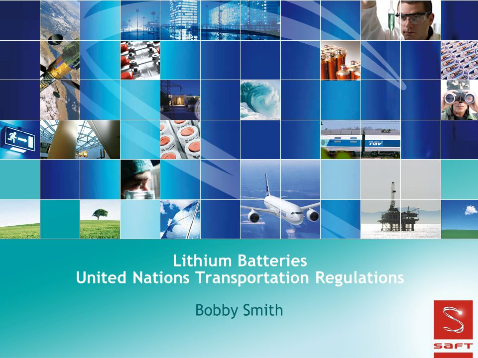 Lithium Batteries United Nations Transportation Regulations
