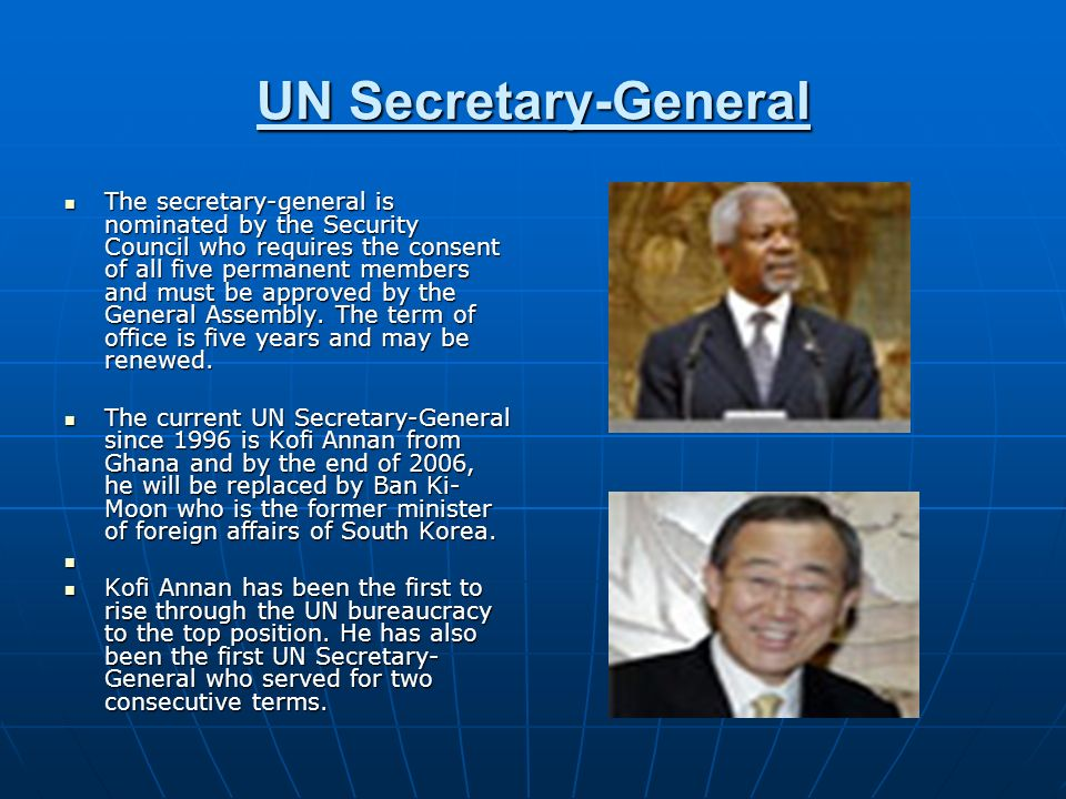 UN Secretary-General