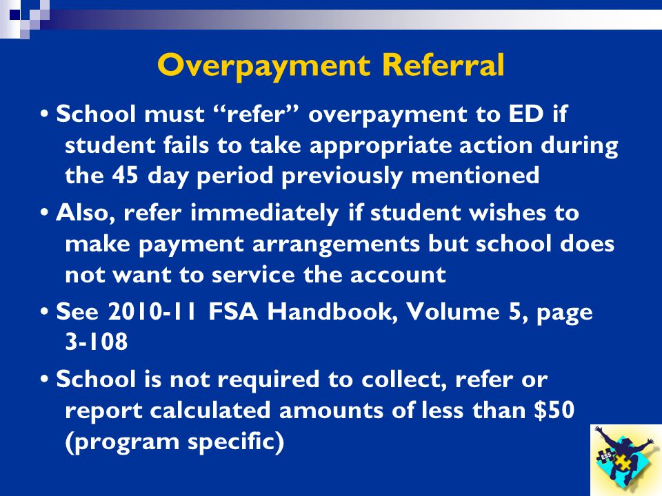 Overpayment Referral
