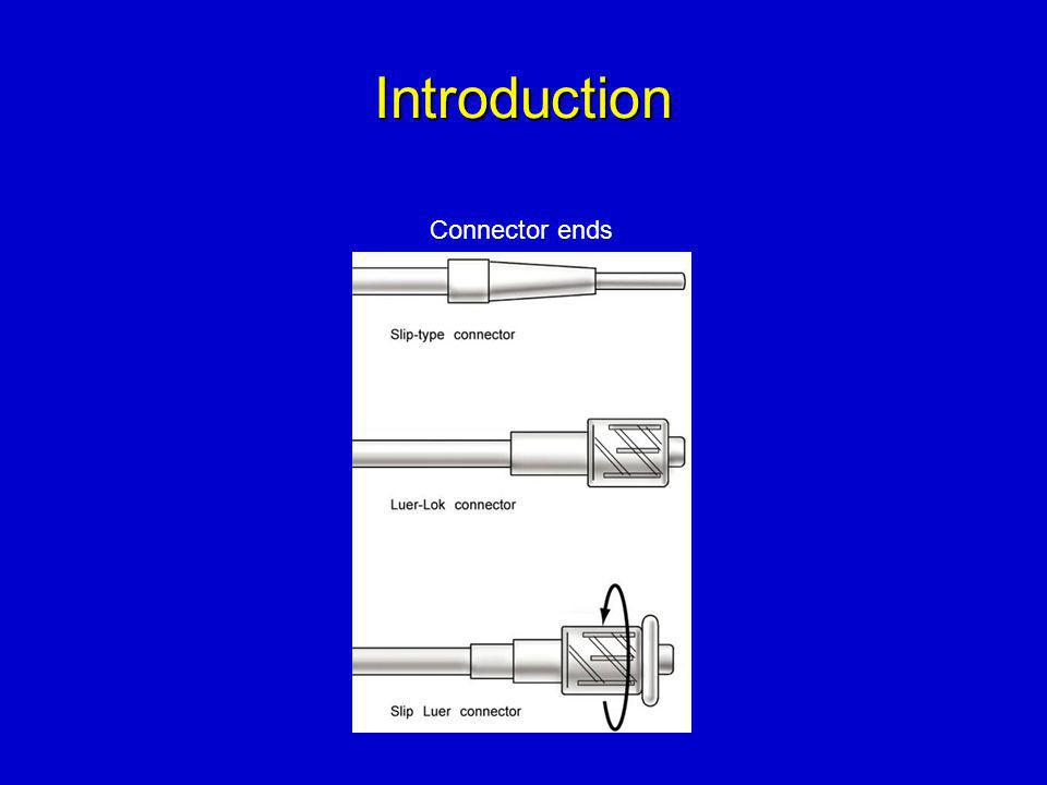 Introduction Connector ends