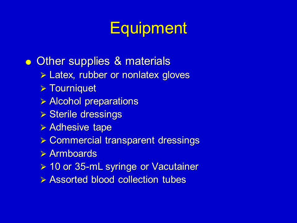 Equipment Other supplies & materials Latex, rubber or nonlatex gloves