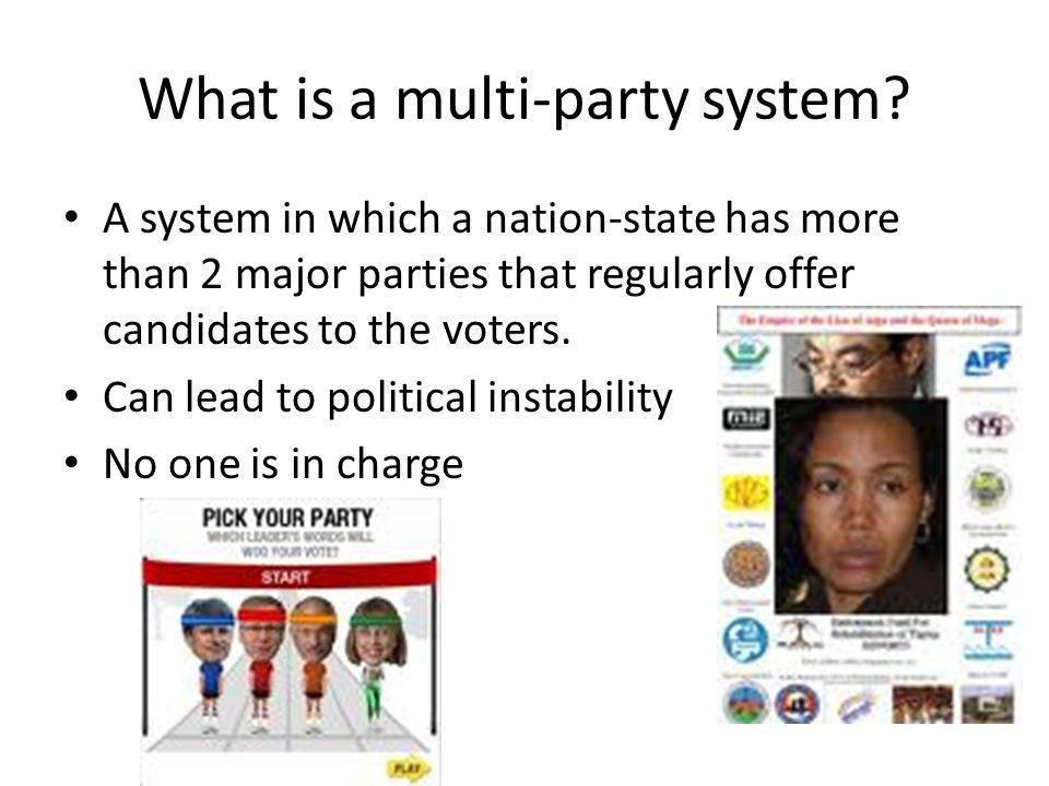 What is a multi-party system