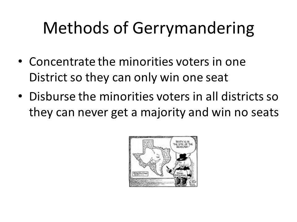 Methods of Gerrymandering