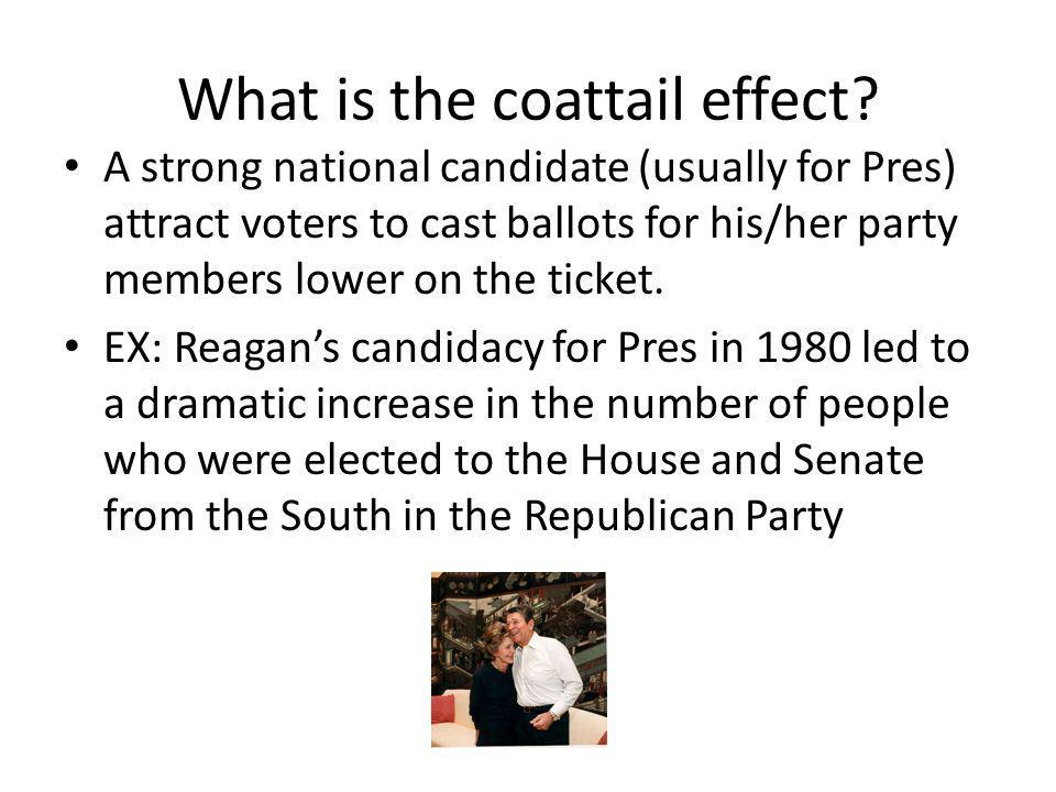 What is the coattail effect