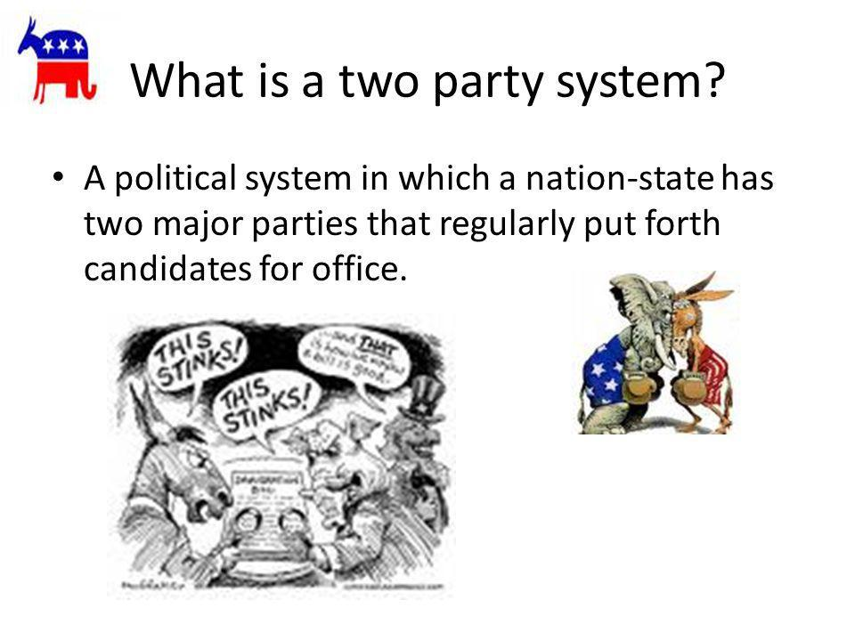 What is a two party system